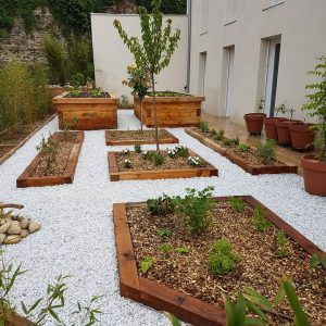 jardin zen à Francheville